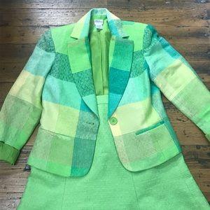 Vintage jacket and skirt